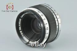 Very Good! Canon 35mm f/2.8 L39 LTM Leica Thread Mount Lens