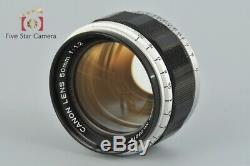 Very Good! Canon 50mm f/1.2 L39 LTM Leica Thread Mount Lens