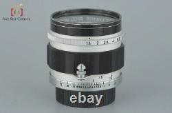 Very Good! Canon 50mm f/1.4 L39 LTM Leica Thread Mount