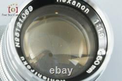 Very Good! Konica Konishiroku Hexanon 50mm f/1.9 L39 LTM Leica Thread Mount