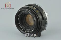 Very Good! Leica SUMMICRON 35mm f/2 3rd 11309 Leica M Mount