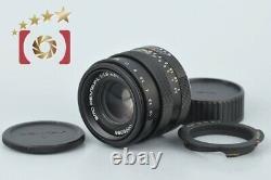 Very Good! PENTAX SMC L 43mm f/1.9 Special Black L39 LTM Leica Thread Mount