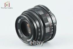 Very Good! Voigtlander ULTRON 35mm f/1.7 Aspherical L39 LTM Leica Thread Mount