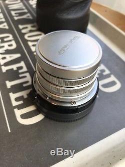 Voigtlander 15mm F4.5 Super Wide Heliar Aspgerical and metabones leica E mount T