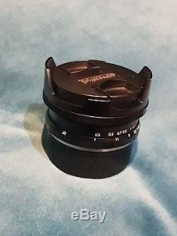 Voigtlander 15mm f/4.5 Leica M Mount