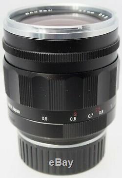 Voigtlander 35mm F1.2 -Mint- Nokton Aspherical VM II Lens For Leica M Mount