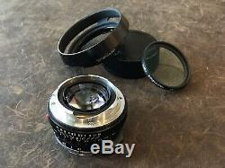 Voigtlander 35mm F1.4 Leica M Mount Lens Genuine Hood