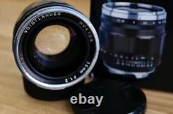 Voigtlander 35mm f1.2 lens (Leica M mount)