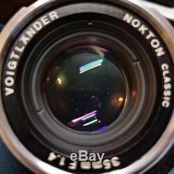 Voigtlander 35mm f1.4 Leica M mount