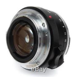 Voigtlander 35mm f1.4 Nokton Classic SC Leica M Mount Lens
