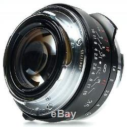 Voigtlander 35mm f1.4 Nokton Classic SC Lens for Leica M Mount