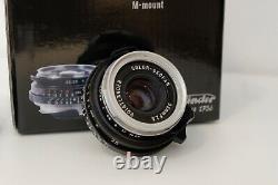 Voigtländer 35mm f2.5 COLOR-SKOPAR Leica M Mount, Good condition, With box