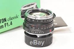 Voigtlander 40mm f1.4 NOKTON classic S. C, Leica M mount, boxed