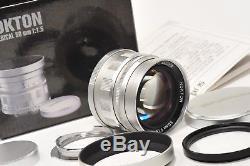 Voigtlander 50mm f1.5 NOKTON Aspherical, Leica LTM/ screw mount, M adapter
