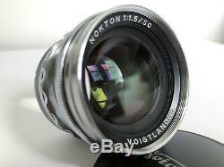 Voigtlander 50mm f1.5 VM Nokton Leica M Mount