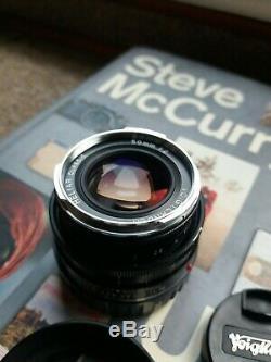 Voigtlander 50mm f2 heliar Leica M mount