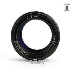 Voigtlander 50mm f/1.1 Nokton Leica M Mount