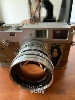 Voigtlander 50mm f/1.5 Nokton Leica M Mount Lens