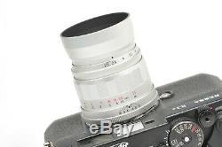 Voigtlander 75mm f2.5 COLOR-HELIAR LTM, Leica M mount adapter, rangefinder lens