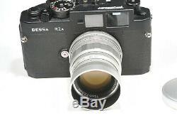 Voigtlander 75mm f2.5 COLOR-HELIAR LTM, Leica M mount adapter rangefinder lens