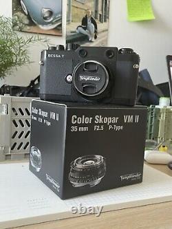Voigtlander Bessa T voigtlander Leica M Mount + 35mm Voigtlander F2.5 Lens