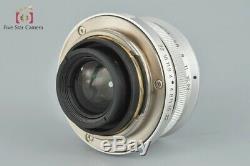 Voigtlander COLOR-SKOPAR 35mm f/2.5 MC L39 LTM Leica Thread Mount Lens