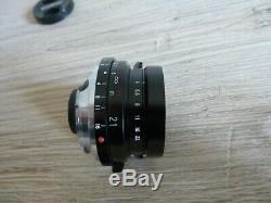 Voigtlander Color Skopar 21mm f4 Leica M mount