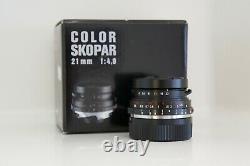 Voigtlander Color Skopar 21mm f/4 Leica M Mount