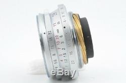 Voigtlander Color Skopar 28mm F3.5 For Leica L39 Mount Silver Excellent 06-U70