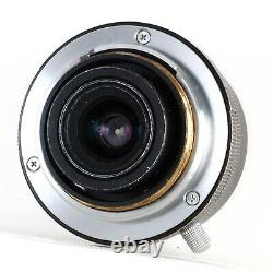 Voigtlander Color Skopar 28mm f3.5 Leica L39 Screw Mount Lens See Examples