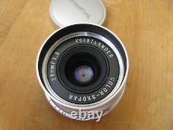 Voigtlander Color Skopar 28mm f/3.5 Lens Leica Screw Mount L39