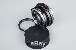 Voigtlander Color Skopar 35mm f/2.5 f2.5 PII VM Lens For Leica M Mount M9 MP