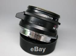 Voigtlander Color Skopar 50mm f/2.5 Lens For Leica M mount From Japan