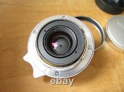 Voigtlander Color Skopar 50mm f/2.5 Lens Leica Screw Mount L39 Very Nice Glass