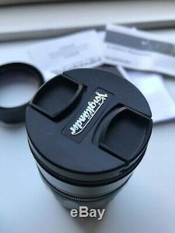 Voigtlander Heliar Classic 75mm 1.8 for Leica M mount