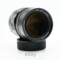 Voigtlander Heliar Classic 75mm F/1.8 Leica M-mount Lens
