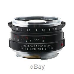 Voigtlander NOKTON 40mm f/1.4 MC Lens 40 f1.4 Multi Coated for Leica M Mount
