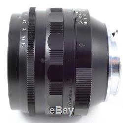 Voigtlander NOKTON 50mm F1.1 VM Leica M-mount Lens Super Fast, Soft and Sharp