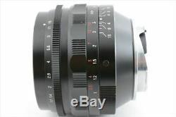 Voigtlander NOKTON 50mm F1.1 VM Leica M-mount Lens from Japan (529-K31)