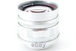 Voigtlander NOKTON 50mm f/1.5 Aspherical Silver L39 LTM Leica Thread Mount Japan