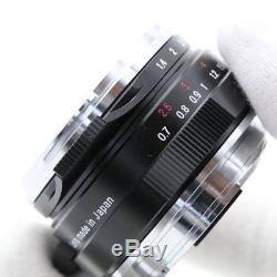 Voigtlander NOKTON Classic 35mm F1.4 MC VM (for Leica M mount) -Near Mint