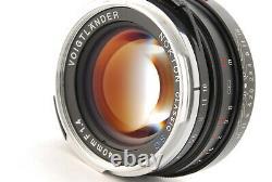 Voigtlander NOKTON Classic 40mm F1.4 S. C Wide-Angle Lens LEICA M Mount Japan 748
