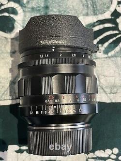 Voigtlander Nokton 35 f1.2 V1 Asph. Leica Mount