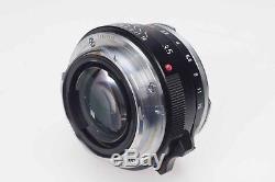 Voigtlander Nokton 35mm f1.4 (Leica M Mount) Lens 35/1.4 #642
