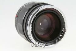 Voigtlander Nokton 35mm f/1.2 Aspherical II Lens Leica M-Mount BA237B EXC COND