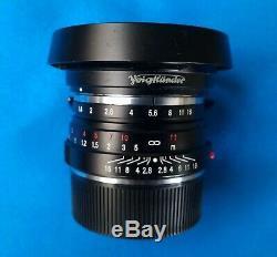 Voigtlander Nokton 40mm f/1.4 MF Lens Leica M mount