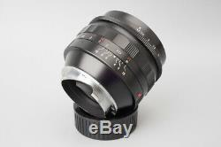 Voigtlander Nokton 50mm f/1.1 f1.1 Prime Manual Focus VM Lens, For Leica M Mount
