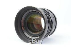 Voigtlander Nokton 50mm f/1.5 Aspherical Lens for Leica LTM M39 Mount #E10947