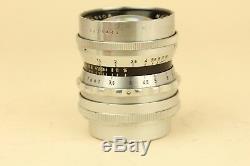 Voigtlander Nokton 50mm f/1.5 ORIGINAL Leica L39 Screw Mount LTM LSM