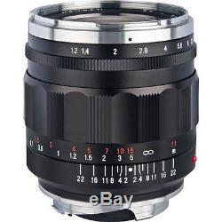 Voigtlander Nokton Aspherical 35mm f/1.2 Lens II Leica M Mount DE